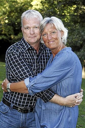 VARMT EKTESKAP: Rune Martinsen har fått mye støtte av kona Kjersti.
