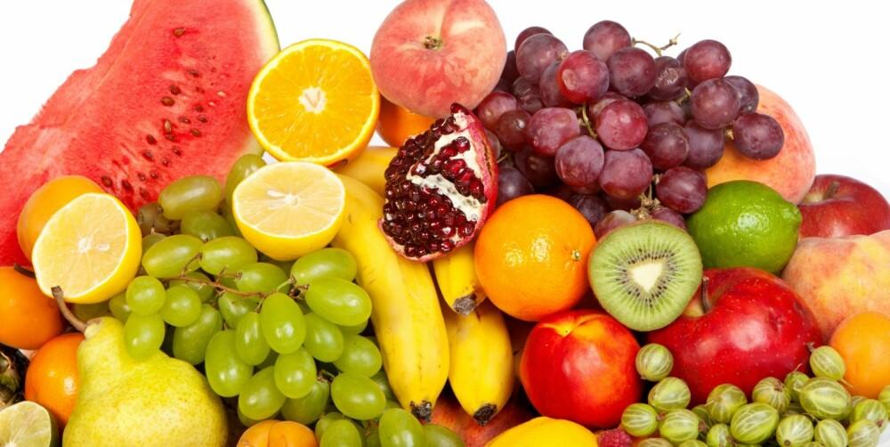 FRUKT: Har du irritabel tarm, tåler du noen typer frukt, mens andre ikke er bra for deg.