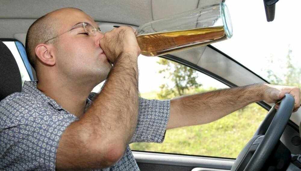 PROMILLEKONTROLL: Du forbrenner rundt 0,15 promille i timen. La bilen stå til du er sikker på at alkoholen er ute av blodet.