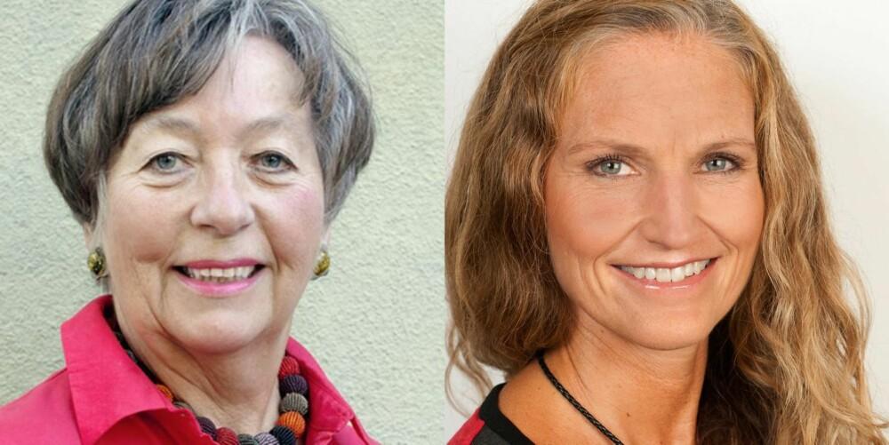 EKSPERTER: T.v. gynekolog og professor dr. med. Mette Haase Moen, t.h. klinisk ernæringsfysiolog Gunn Helene Arsky.