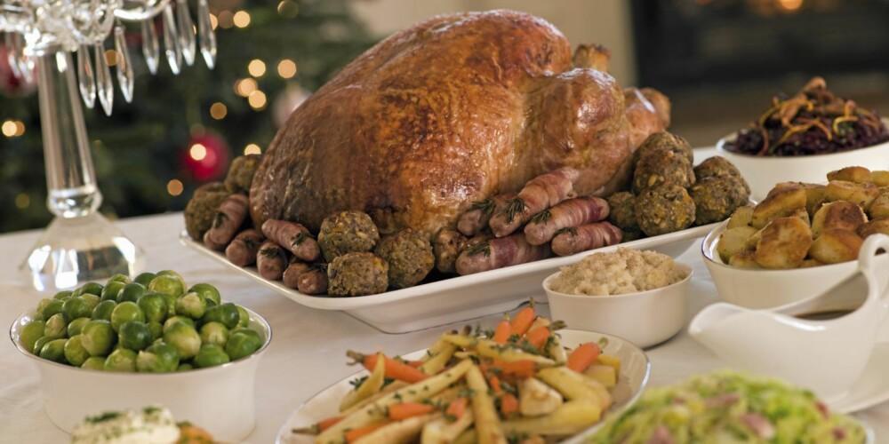 MAGERT: Kalkun er å foretrekke fremfor fet ribbe i julen, dersom du vil sikre en god fordøyelse.