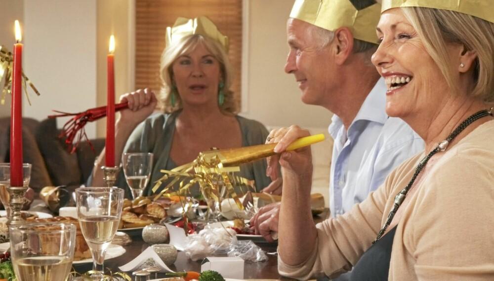 NYT JULEMATEN: Ved å ta noen enkle forholdsregler kan du gjøre magen fornøyd når familien er samlet til et deilig julemåltid.
