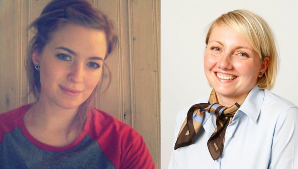 KILDER: Gunhild Kile Sandvik, fagredaktør hos Apotek 1 og Ingvild Aas Føinum, sykepleier på Radiumhospitalet i Oslo. FOTO: Privat