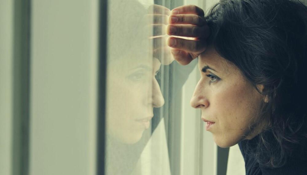DEPRESJON SYMPTOMER: Her kan du lese om symptomer og kjennetegn på depresjon. ILLUSTRASJONSFOTO: Thinkstock