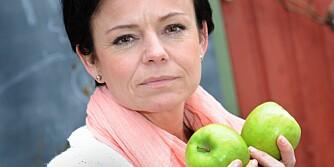 SPISEFORSTYRRELSER: - Jeg må ikke bli for sulten fordi det kan trigge behovet for å overspise, men jeg må ikke bli for mett heller, da det kan trigge lysten til å kaste opp, sier tobarnsmoren Jane Merethe Røstgård fra Drøbak.