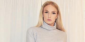 MODELL: Ava Leana Enoksen har en del modelloppdrag bak seg, og tar gjerne flere. FOTO: Privat