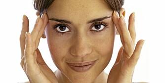 SMERTER: Med rett medisin, rett kosthold, gode rutiner og forståelse fra omgivelsene kan de fleste leve et normalt og godt liv med migrene.