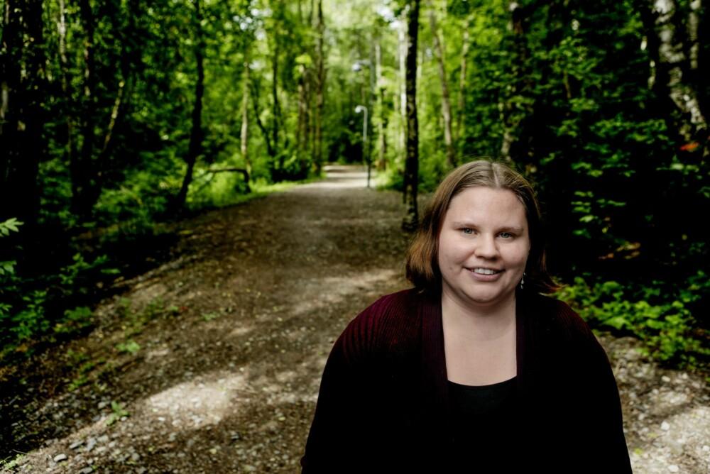 GODE DAGER: Heidi har det alltid bedre om sommeren, når lyset og naturen er terapi i seg selv.