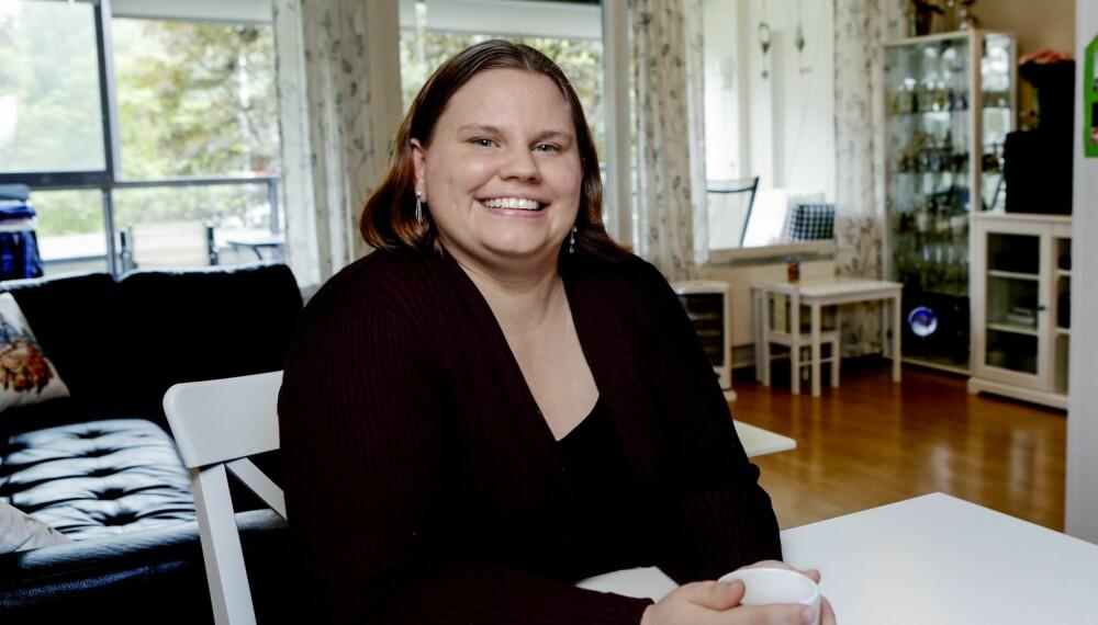 OCD: Heidi sto opp ti over fire for å gjøre seg klar til dette intervjuet, og hun dusjet frem til klokken seks.