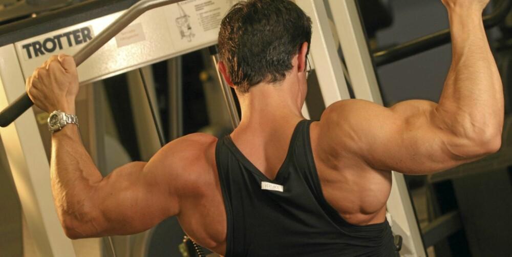 IKKE NOK: For noen er det ikke nok å bare løfte vekter. Mange tror at anabole steroider kun gir mer muskler, men det er feil.