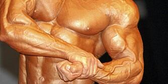 MUSKLER: Mange tror at anabole steroider kun gir muskler, men det er feil. Det gir mange andre bivirkninger også.