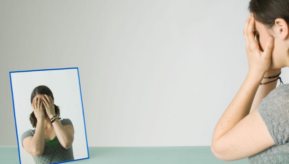 NOE GALT: Pasienter med dysmorfofobi har en sterk oppfatning av at det er noe feil på utseendet deres.