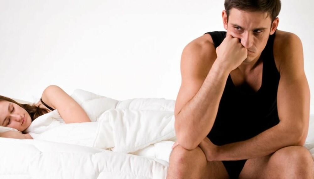 EREKSJONSSVIKT: En 25 år gammel mann har trøbbel med at ereksjonen svikter når det virkelig gjelder. Se hva sexologen svarer.
