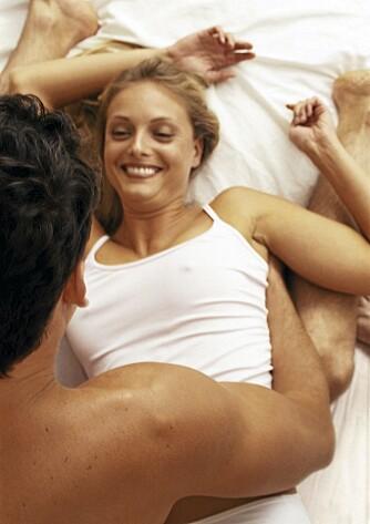 PARFORHOLDET: Mange kvinner tør å fortelle kjæresten at de ikke oppnår klimaks mens de har sex.