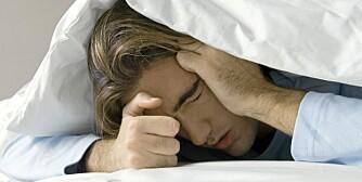 ØDELAGT: Dagen etter en stor middag og mye drikke, kan du ende opp med å holde sengen.