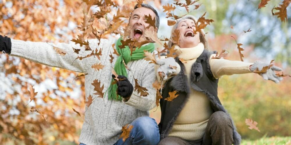 OMFAVN HØSTEN: - Har man det generelt bra ellers i livet, er det ingen grunn til å oppleve denne årstiden som negativ, sier lege.