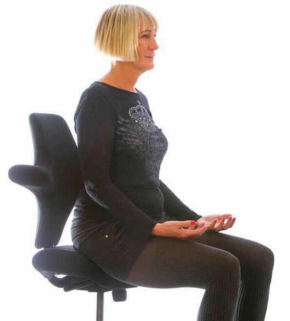ØVELSE 2: Sittende pusteøvelse for å roe ned og bli jorda