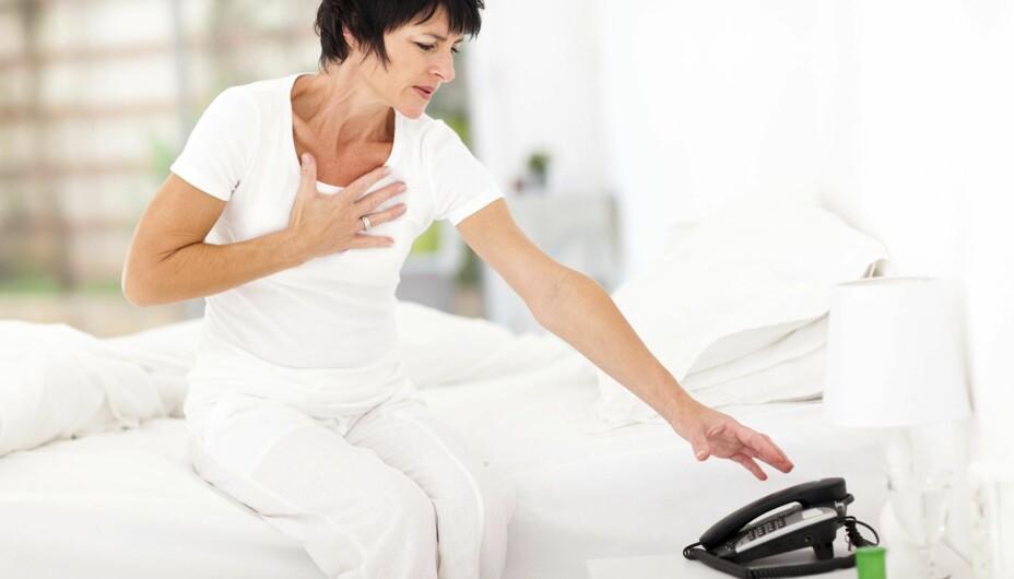 HØYT BLODTRYKK: Det er viktig å kjenne sine blodtrykksverdier, for du kjenner ikke selv når blodtrykket er for høyt.