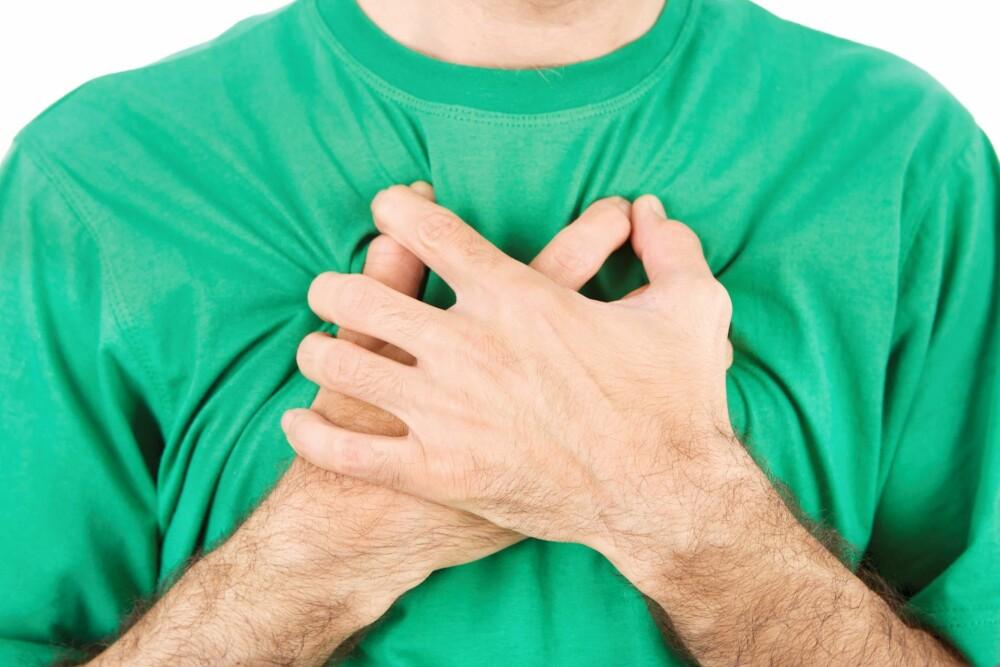 LUNGEFUNKSJONSTEST: En lungefunksjonstest kan avsløre om du har astma eller KOLS uten å vite det.