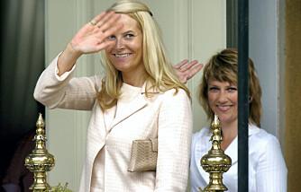 Kronprinsesse Mette-Marit og prinsesse Märtha
