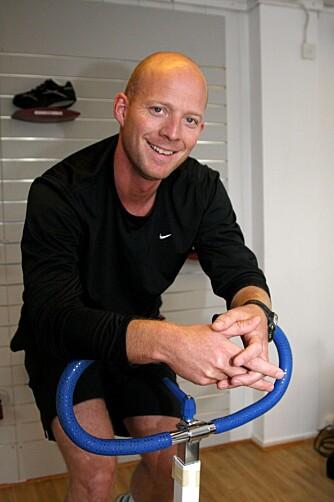 Paul Andreas viste seg å ha et strålende oksygenopptak. 31-åringen trener mye, og kan derfor spise det han har lyst på.