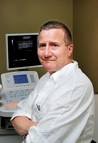 BEDRE FØRE VAR: - Alle burde ta ultralydundersøkelse av kroppen med regelmessige mellomrom, mener røntgenlege Tor Austad.
