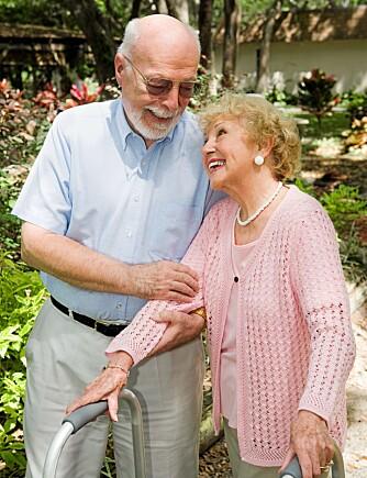 INTELLEKTUELL STIMULANS: I et parforhold får du sosial og intellektuell stimulans som beskytter mot Alzheimers. Men forskerne vet ikke hvor mye kvaliteten på parforholdet har å si.