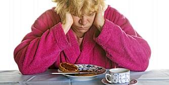 DIABETES: Lavt blodsukker kjennestegnes ofte ved at du er trøtt og slapp.