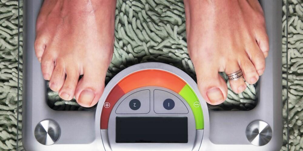 VEKTREDUKSJON: Mange med KOLS opplever å gå ned i vekt.