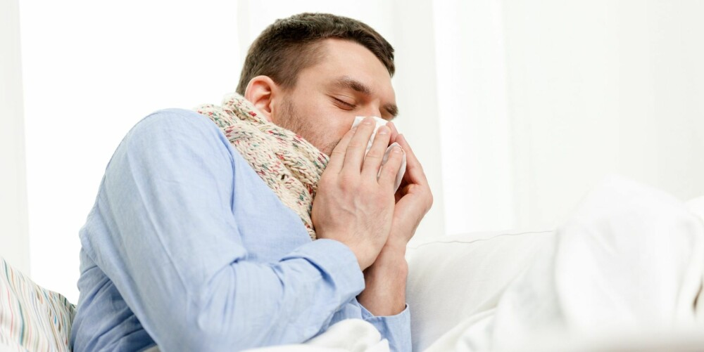 SYK: Har du stadig infeksjonssykdommer som bronkitt og lungebetennelse, kan du være i tidlig fase av KOLS.