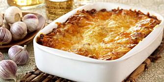 Hvorfor ikke prøve en lasagne laget med torsk?