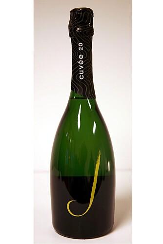 J Cuveè 20 Brut NV. En potensiell utfordrer til champagne?