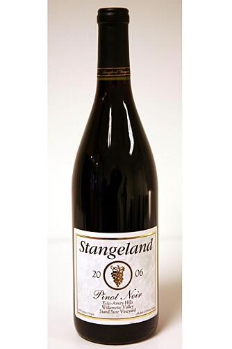 Stangeland Pinot Noir 2006.