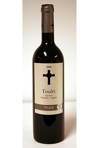 Tosalet Priorat Old Vines 2006.
