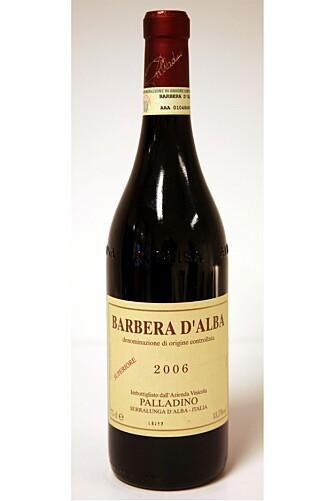 Pallandino Barbera D` Alba Superiore 2006.