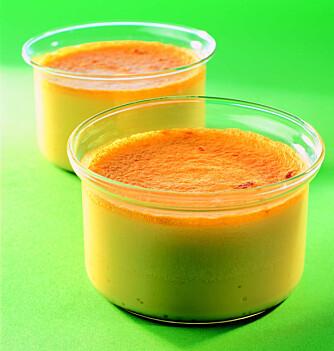 DESSERT: Kokospudding fra Vietnam.