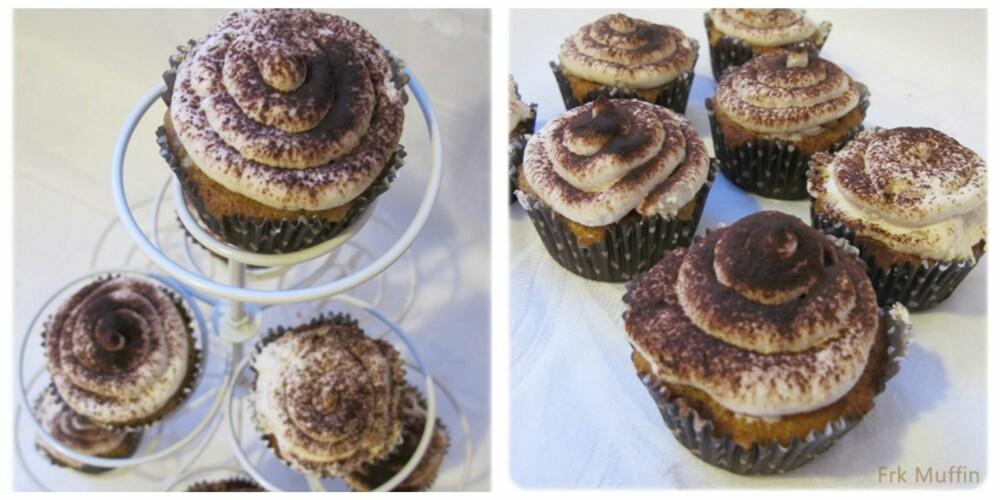 TIRAMISU MUFFINS: Den ultimate desserten for voksne.