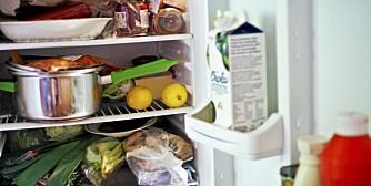 I KJØLESKAPET: Mange matvarer har lang holdbarhet, om de oppbevares riktig.