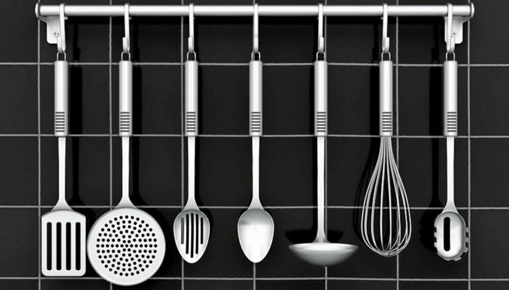 KOMPLETT KJØKKEN: Er kjøkkenet ditt komplett? Sjekk hva du mangler.