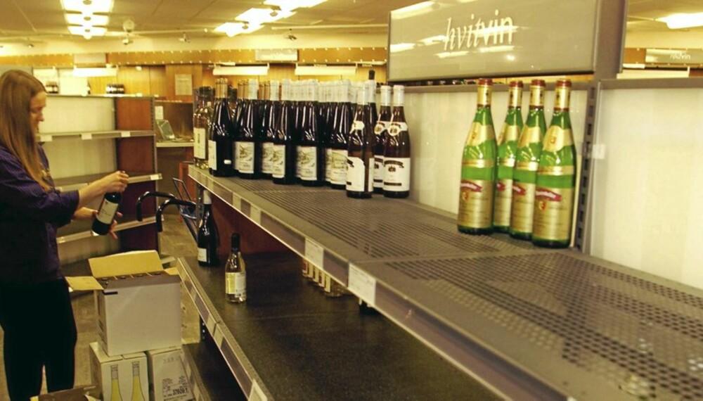 VIN PÅ TILBUD:  Vinmonopolet senker prisene i januar.