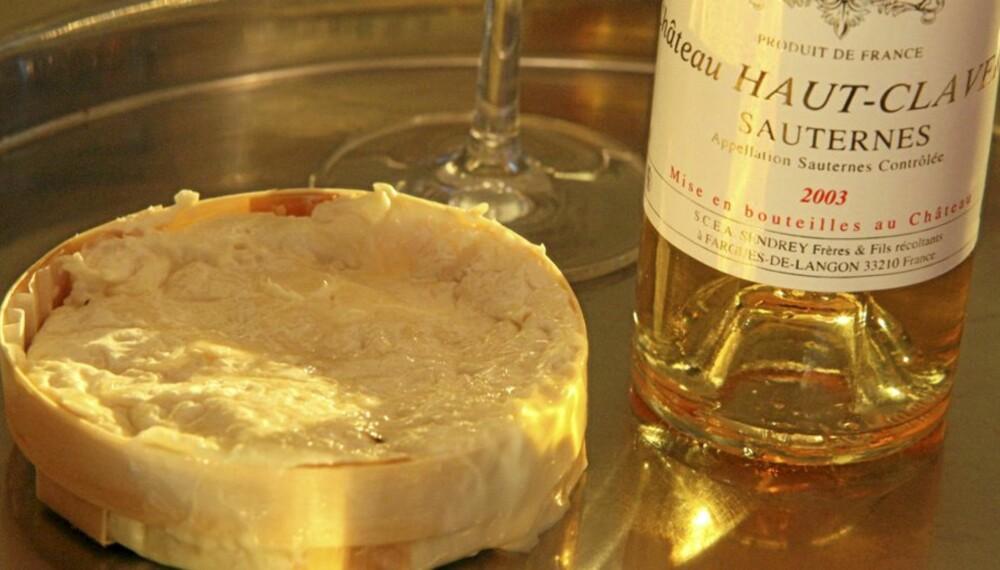 St. Felicien og Sauternes er to fantastiske produkter.