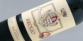 KLASSISK: Brolio Chianti Classico kommer fra Ricasoli-familiens vinmarker rundt borgen Brolio.
