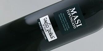 DRUEMIKS: Masi Passo Doble er laget på malbec og corvina.