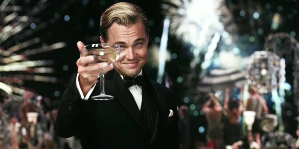 HELT FEIL: Brede glass er helt ubrukelige til champagne.