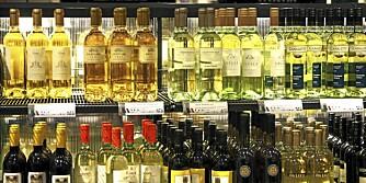 VIN PÅ TILBUD: Hver måned reduserer Vinmonopolet prisene på vin.
