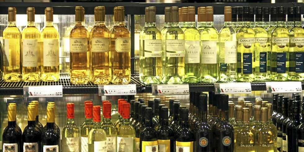 vin på tilbud