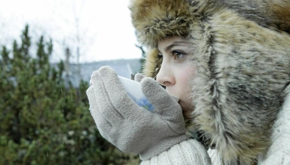 HØSTDRIKKE: Når høsten og kulden setter inn er det godt med noe å varme seg på.