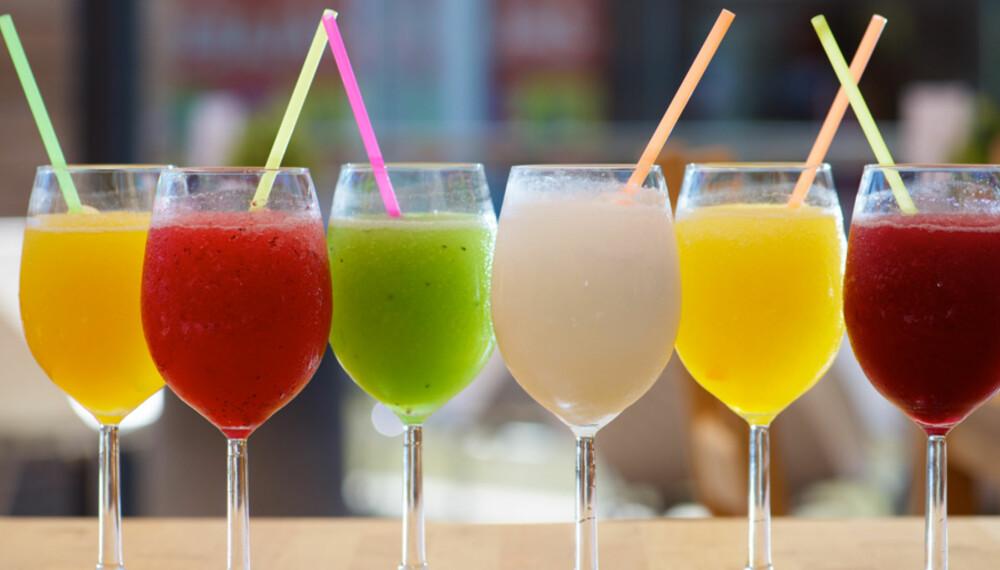 FROSNE DRINKER: Frosne drinker er ikke bare for babes.