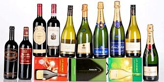 DEN MAGISKE GRENSEN: Hold deg under 10 liter vin hvis du vil slippe unna med forenklet forelegg.