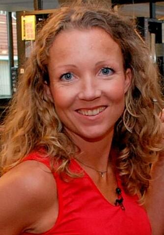 GOD STØTTE: Ernæringsrådgiver Cathrine Borchsenius har gode råd til Christopher Sjuve.